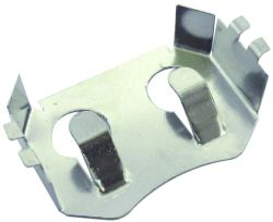 Two CR2032 Retainer - Surface Mount
