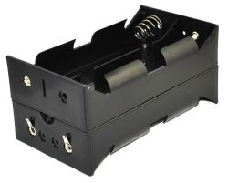 8 Cell D Battery Holder With Solder Lug Terminals