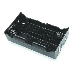 4 Cell D Battery Holder With Lead Wires