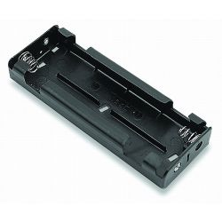 6 Cell C Battery Holder With Lead Wires