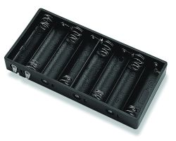 8 Cell AA Battery Holder With Lead Wires