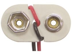 9V PVC Vinyl Battery Snap