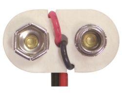 9V PVC Vinyl Battery Snap 1