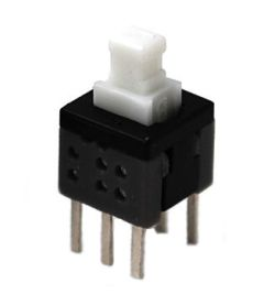 807C/809C Series, DPDT, Latching and Momentary Pushbutton Switches 1