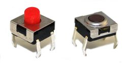 ELTSHW Series, SPST, PCB Mount, Washable Tact Switches