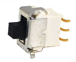 ES-4S-M Series, SPDT, IP67, Surface Mount (SMT), Sub-Miniature Slide Switches