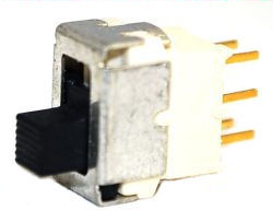 ES-5S-C Series, DPDT, Sealed, IP67, Sub-Miniature Slide Switches