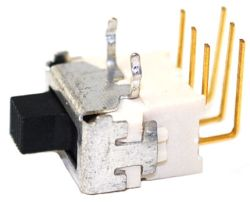 ES-5S-H Series, DPDT, Sealed, IP67, Sub-Miniature Slide Switches