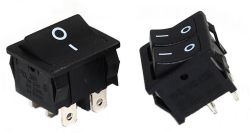 JS-606P Series, DPST/DPDT, Power Rocker Switches