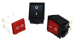 JS-608 Series, DPST/DPDT, Power Rocker Switches