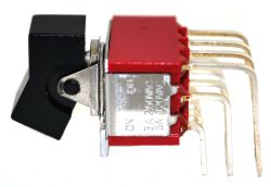 R8401L Series, 4PDT, Miniature Rocker and Paddle Switches