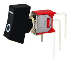 RS-8 Series, SPDT, Sub-Miniature Rocker Switches
