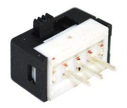 S251A Series, SPDT, Miniature Slide Switches