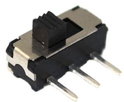 SHM-1260 Series, SPDT, Ultra-Miniature Slide Switches