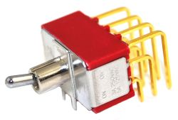 T8401P Series, 4PDT, Miniature Toggle Switches