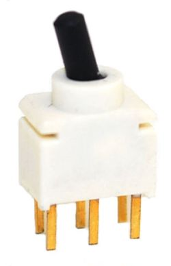 UT-5-C Series, DPDT, Sealed, Ultra-Miniature Toggle Switches