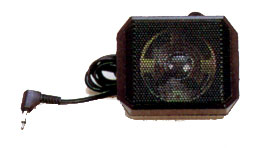81 mm x 65 mm, 1.0 W, 8 Ohm, CB Extension Speaker