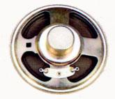77 mm, Round Frame, 1.0 W, 8 Ohm, Alnico Magnet, Paper Cone Speaker