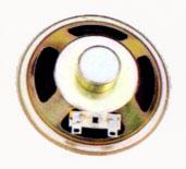 77 mm, Round Frame, 3.0 W, 8 Ohm, Alnico Magnet, Paper Cone Speaker