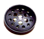28 mm, Round Frame, 0.1 W, 8 Ohm, Neodymium Magnet, Mylar Cone, Low Profile Speaker w/Grill Cover
