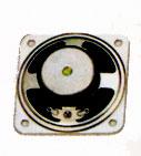 57 mm x 57 mm, Square Frame, 0.25 W, 8 Ohm, Ferrite Magnet, Paper Cone Speaker