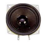 66 mm x 66 mm, Square Frame, 3.0 W, 8 Ohm, Ferrite Magnet, Paper Cone Speaker