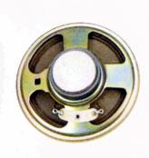 77 mm, Round Frame, 1.0 W, 8 Ohm, Ferrite Magnet, Paper Cone Speaker