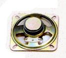 77 mm x 77 mm, Square Frame, 1.0 W, 8 Ohm, Ferrite Magnet, Mylar Cone Speaker
