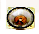 77 mm x 77 mm, Square Frame, 3.0 W, 8 Ohm, Ferrite Magnet, Mylar Cone Speaker