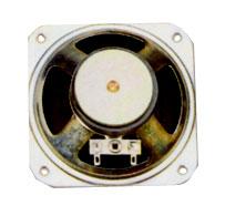 87 mm x 87 mm, Square Frame, 3.0 W, 8 Ohm, Ferrite Magnet, Paper Cone Speaker