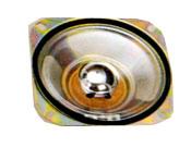102.4 mm x 102.4 mm, Square Frame, 3.0 W, 8 Ohm, Ferrite Magnet, Mylar Cone Speaker