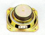 102 mm x 102 mm, Square Frame, 20.0 W, 8 Ohm, Ferrite Magnet, Paper Cone Speaker