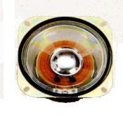 102.5 mm x 102.5 mm, Square Frame, 10.0 W, 8 Ohm, Ferrite Magnet, Mylar Cone Speaker