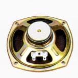 119 mm x 119 mm, Round Frame, 3.0 W, 8 Ohm, Ferrite Magnet, Paper Cone Speaker