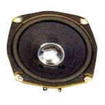119 mm x 119 mm, Round Frame, 20.0 W, 8 Ohm Ferrite Magnet, Paper Cone Speaker