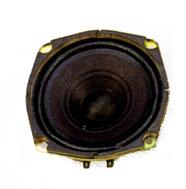 119.4 mm x 119.4 mm, Round Frame, 10.0 W, 8 Ohm, Ferrite Magnet, Paper Cone Speaker