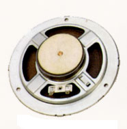 137 mm, Round Frame, 5.0 W, 8 Ohm, Ferrite Magnet, Paper Cone Speaker