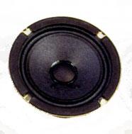 131.3 mm, Round Frame, 10.0 W, 8 Ohm, Ferrite Magnet, Paper Cone Speaker