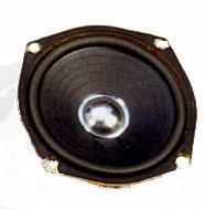 134.5 mm, Round Frame, 10.0 W, 8 Ohm, Ferrite Magnet, Paper Cone Speaker