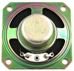 20 mm x 20 mm, Square Frame, 0.3 W, 8 Ohm, Alnico Magnet, Paper Cone Speaker