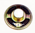 57 mm, Round Frame, 0.25 W, 8 Ohm, Alnico Magnet, Paper Cone Speaker