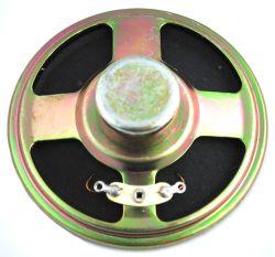 70 mm, Round Frame, 0.5 W, 8 Ohm, Alnico Magnet, Paper Cone Speaker