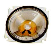 87 mm x 87 mm, Square Frame, 1.0 W, 8 Ohm, Alnico Magnet, Mylar Cone Speaker