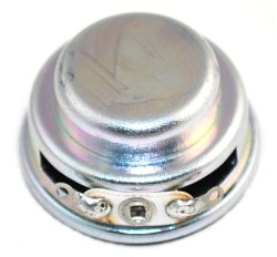 27 mm, Round Frame, 1.0 W, 8 Ohm, Neodymium Magnet, Paper Cone, High Output Power Speaker