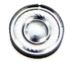30 mm, Round Frame, 0.03 W, 32 Ohm, Neodymium Magnet, Mylar Cone, Low Profile Speaker