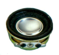 32 mm, Round Frame, 2.0 W, 8 Ohm, Neodymium Magnet, Paper Cone, High Output Power Speaker