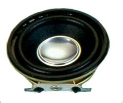 36 mm, Round Frame, 1.0 W, 8 Ohm, Neodymium Magnet, Paper Cone, High Output Power Speaker