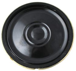 30 mm, Round Frame, 0.5 W, 8 Ohm, Neodymium Magnet, Mylar Cone, Low Profile Speaker