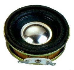 40 mm, Round Frame, 2.0 W, 8 Ohm, Neodymium Magnet, Paper Cone, High Output Power Speaker