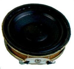 45 mm, Round Frame, 2.0 W, 8 Ohm, Neodymium Magnet, Paper Cone, High Output Power Speaker